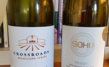 Crossroads Chardonnay and Soho Peggy Sauvignon Blanc