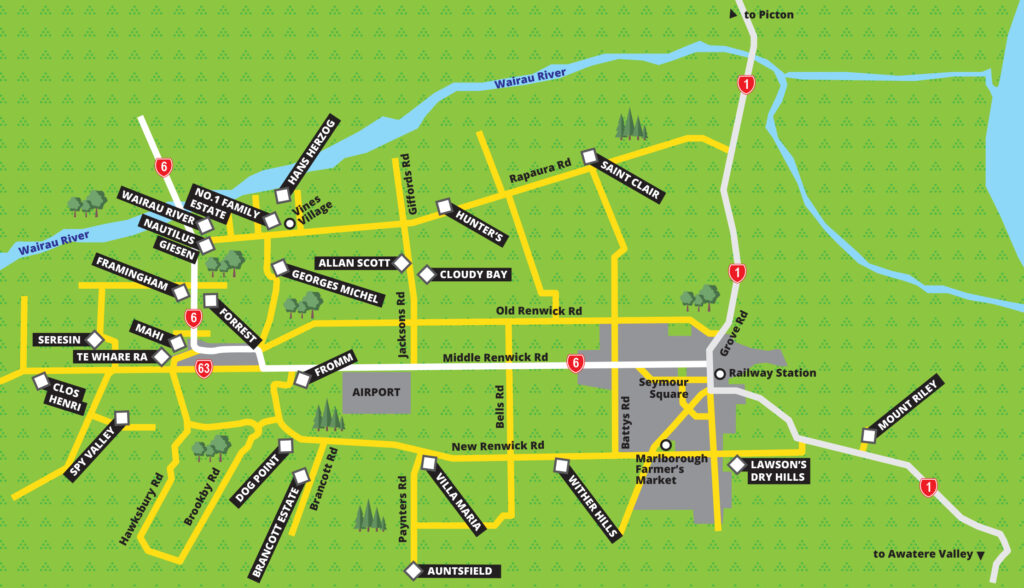 Marlborough Map