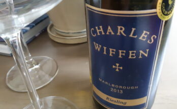 Charles Wiffen Riesling 2013