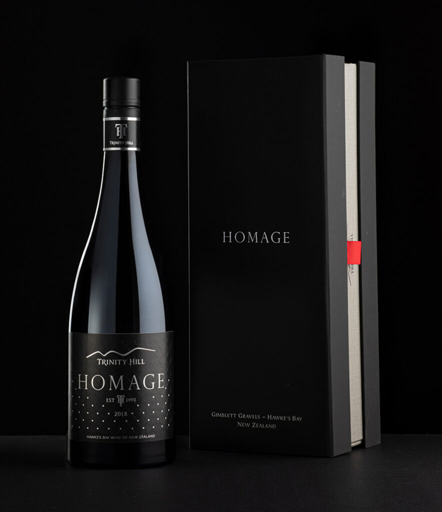 Homage with giftbox