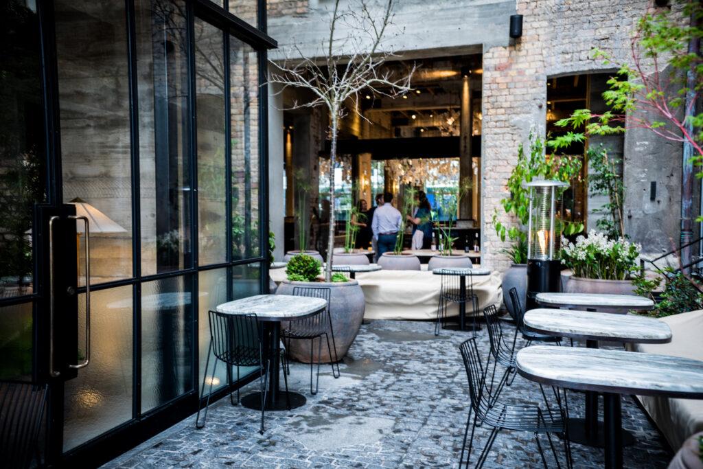 The Hotel Britomart - courtyard