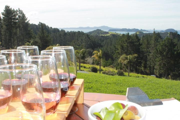 Paroa Bay wines