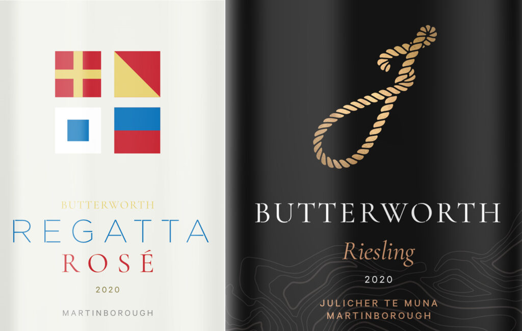 Butterworth wine labels