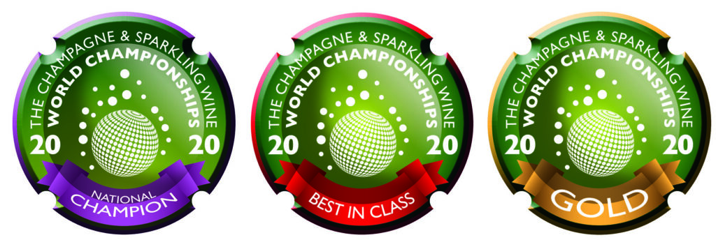 No.1 rose wine medals