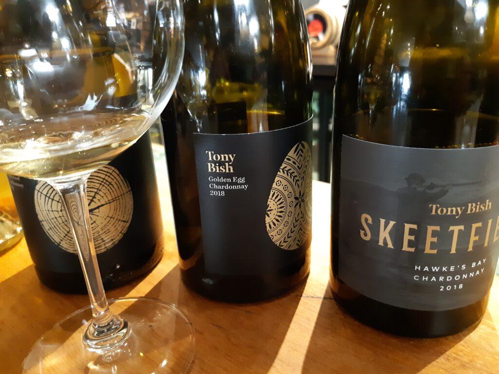 Tony Bish Chardonnay selection