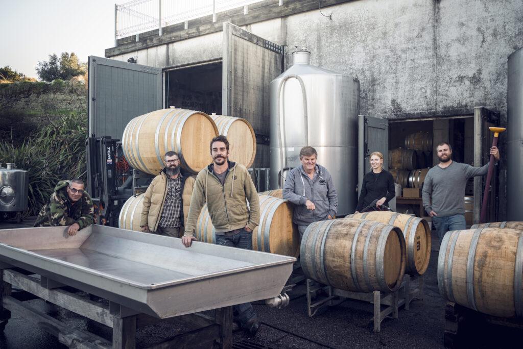 Escarpment winery workers