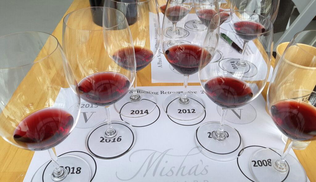 Misha's Vineyard Tasting