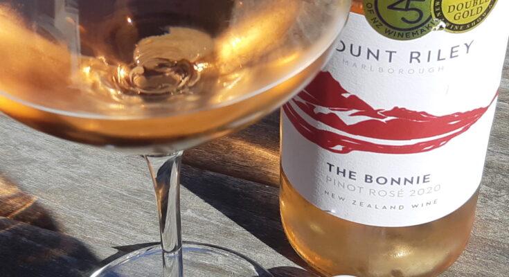 Mount Riley 'The Bonnie' Pinot Rosé 2020