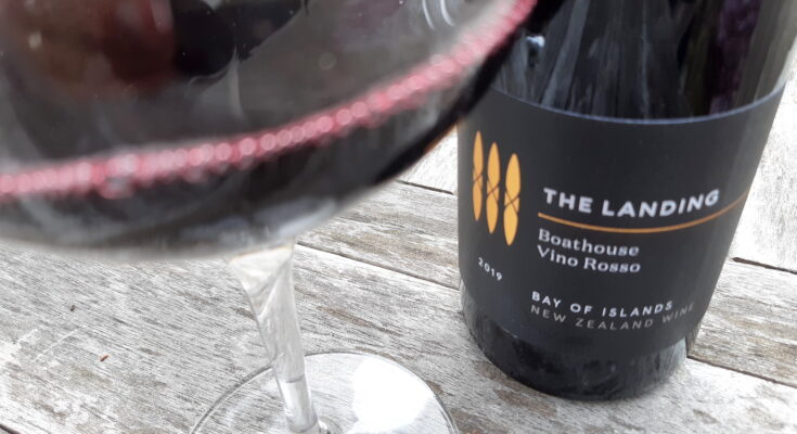 The Landing Boathouse 'Vino Rosso' 2019