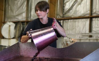 Schubert winemaker Marion Deimling