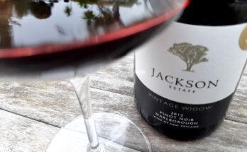 Jackson Estate 'Vintage Widow' Pinot Noir 2012