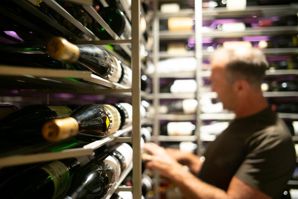Matt in the Cellar